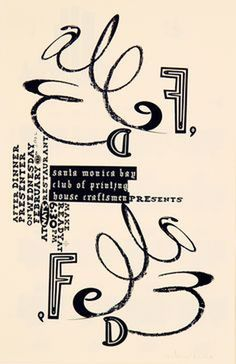 #poster #graphic #typographic #edfella
