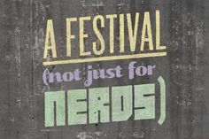 Ideas Festival 2011 - Alex Naghavi #design #graphic #typography