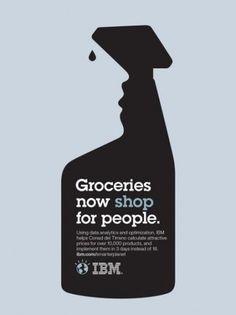 IBM: Outcomes retail | Ads of the World™ #inspiration #design #illustration #barr #noma
