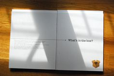 What\\\'s in the box?-The Book