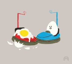 Brock Davis Kid Tees on Behance #egg