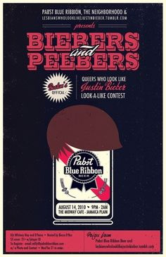 Biebers and Peebers | Flickr - Photo Sharing! #illustration #bieber #poster #typography