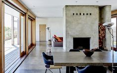 70's Rural Victorian House Renovated for Comfortable Interior and Durable Functionality