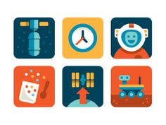 Nasa #nasa #color #icons #clean #simple #eric #r #mortensen