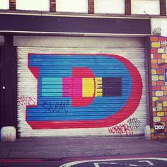 insta jo #graffiti #london #typography