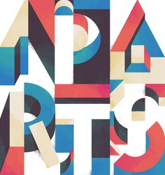 Typeverything.com Parts Apart by Damien Correll. #type #colours