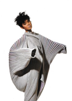Photos by Irving Penn 1980's Issey Miyake Photo Advertisement Archive Fashion Scan