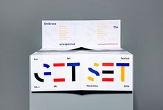Get Set Festival by Epiforma #branding #box #graphic design