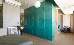 Minimally Designed Apartment With Punches of Color Photo #interior #design #decor #deco #decoration