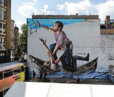 Street Art by Fintan Magee #magee #fintan #art #street