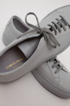 COULEUR COUTURE #common #shoes #project #grey