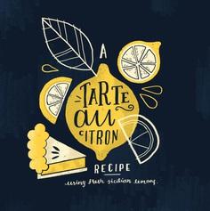 Steph Baxter - Freelance hand lettering and illustration - Recipe Illustration
