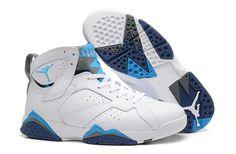 Nike Air Jordan White Mens Sky Blue Purple New