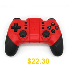 Universal #System #Wireless #Controller #Bluetooth #Joystick #Controller #for #PS3 #Game #- #ROSSO #RED