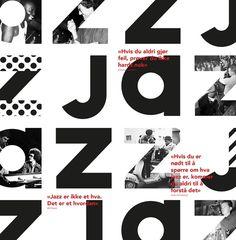 Geometric Typography Poster