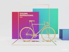golden inspirations fubiz graphic