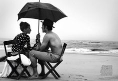 tumblr_laz4coSGuG1qe6z91o1_500.jpg (500×346) #couple #beach #portrait #editorial