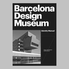Barcelona Design Museum identity manual cover