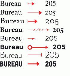 • Robin : Éditions Deux-Cent-Cinq #arrows #text #fonts #typography