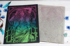 #psychedelic #woodcut