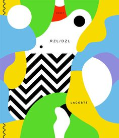 L/F #flat #illustration #pattern #poster