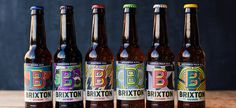 Brixton Brewery #illustration #typography