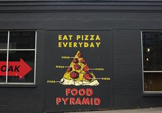 Portland Please by Local Wanderer - Exposure #food pyramid