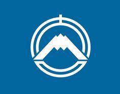 Kanji city badge, Japan #logo