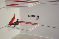 Spiralis lab Creative open container #pop #up #poster #popup #3d