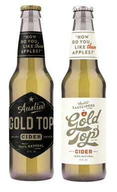 cider #packaging #bottle #cider