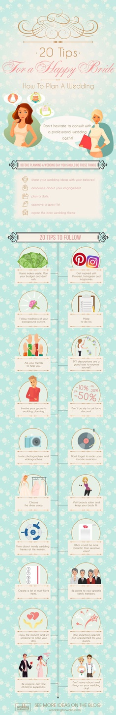 how to plan a wedding 20 tips for a happy bride