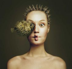 Animeyed: Fine Art Self-Portraits by Flora Borsi