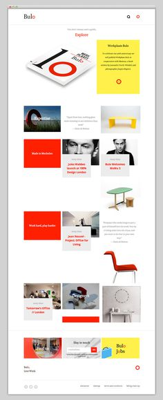 Bulo #website #layout #design #web