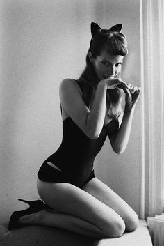 cat woman #sexy #woman #cat #pin #up #vintage #lady