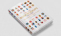 Horizontal Hard Book Cover Mockup