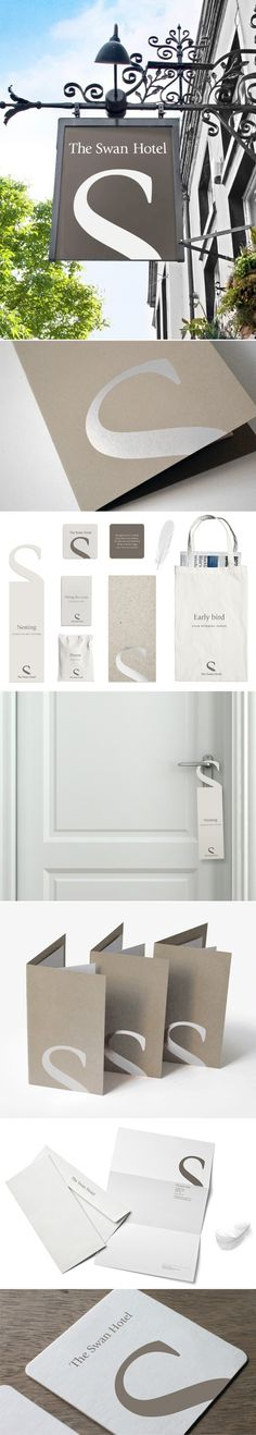 The Swan Hotel | #stationary #corporate #design #corporatedesign #identity #branding #marketing < repinned by www.BlickeDeeler.de | Take a l