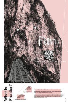 Frontier Poster #event #frontier #wearethefrontier #poster
