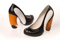 Bird Shoes by Kobi Levi | CMYBacon #toucan #shoe #bird