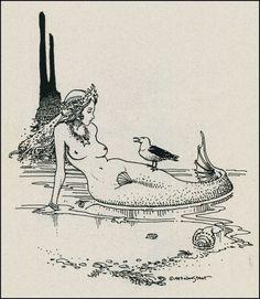 tumblr_lsupd5wALu1qat50eo1_1280.jpg (1114×1280) #illustration #mermaid
