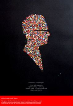 Allain's 40th : A Friend Of Mine #print #poster