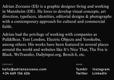 Adrian Zorzano graphic design art direction Spain Germany webdesign site of the day  best beautiful minimal typography type design mindspark