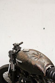 Convoy #kawasaki #vintage #bike #weed