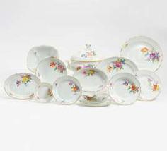 Meissen, 85 parts of a Service #porcelain