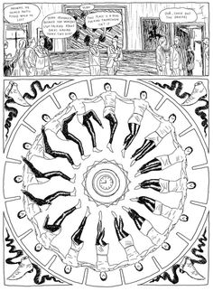 Barrel of Monkeys 50 Watts #illustration #ink #brush