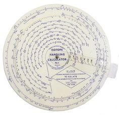 Isotope Handling Calculator No. 1 (ca. 1955)