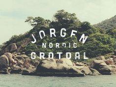 Jorgen Grotdal #logo #grotdal #jorgen #typography
