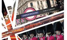 Portfolio / Print / CMYK London Digital Screenprint #london #print #design #graphic #screenprint #layout