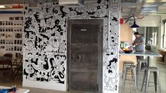 Blog | Jon Burgerman #mural