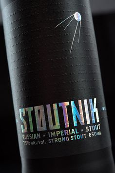 Stoutnik Packaging #beer #bottle #label #packaging