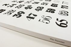 The Narrows #les #mason #narrows #print #book #publishing #numbers #type